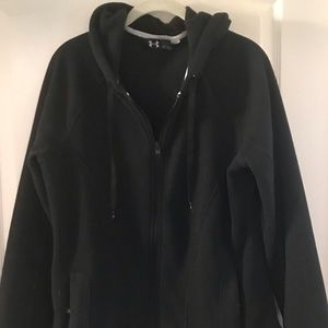 Under Armour zip front hoodie